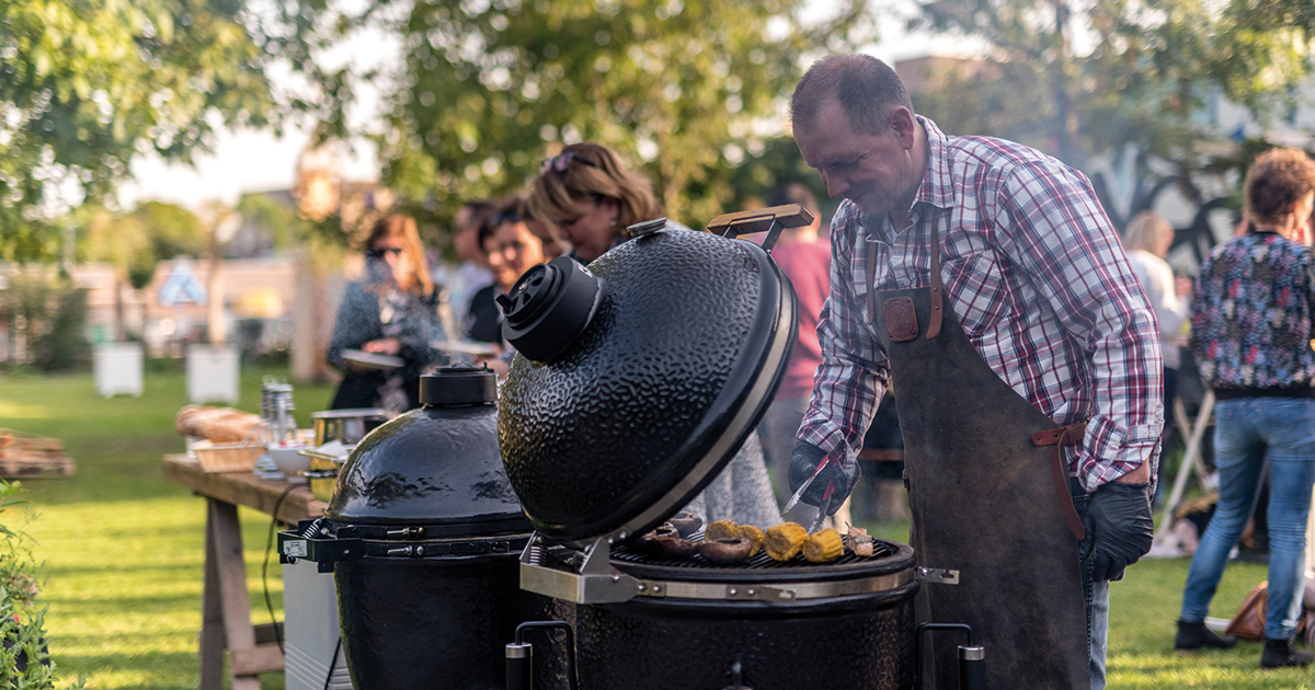 Green Egg Barbeque - Lopend Buffet2